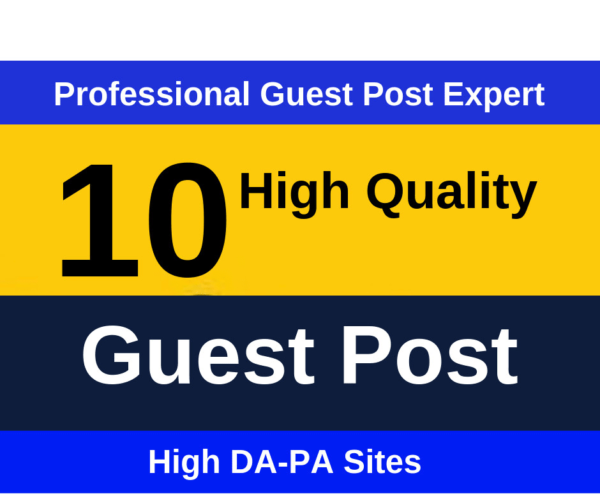 10 high authority guest post on da 93 with dofollow links